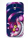 For Samsung Galaxy etui Mønster Etui Bagcover Etui Kat TPU for Samsung S4