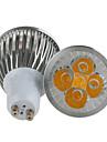 140-160lm GU10 Точечное LED освещение MR16 5 Светодиодные бусины Высокомощный LED Диммируемая Тёплый белый / Холодный белый 220-240V