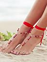 tornozeleiras moda temperamento