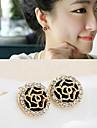 Earring Stud Earrings Jewelry Women Party / Sports Alloy / Rhinestone 1set
