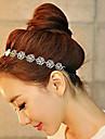 Alloy Hollow Rose Headband Wedding Party Elegant Feminine Style