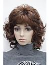 Hivision Femme Perruque Synthetique Long Ondule Avec Frange Perruque Naturelle Perruque Deguisement