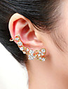 Men's Women's Ear Cuffs Crystal Acrylic Silver Plated Gold Plated Imitation Diamond Animal Shape Butterfly Jewelry For Wedding Party
