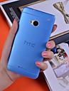 ультратонкий 0,3 мм красочный случай скраб п.п. HTC One M7 (ассорти цветов)
