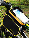 CoolChange Bolsa para Quadro de Bicicleta Mochila de Ciclismo Acessorios para Aventura Bolsa Celular 6.2 polegada Lista Reflectora A