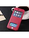 Pour iPhone 8 iPhone 8 Plus iPhone 6 iPhone 6 Plus Etuis coque Porte Carte Avec Support Avec Ouverture Clapet Coque Integrale Coque