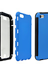 2 en 1 hybride fort impact étui en silicone pour iPhone 5 / 5s (de couleurs assorties)