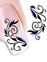 Water Transfer Printing Nail Stickers NO.1371