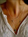 Женский Сглаз Мода Слоистые ожерелья Сплав Слоистые ожерелья ,