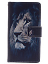 Case For Samsung Galaxy Samsung Galaxy Case Card Holder Wallet with Stand Flip Full Body Cases Animal PU Leather for S4