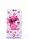 Owl Pattern PU Leather Full Body Case with Stand for Multiple Samsung Galaxy S4/S5/S5MINI/S6/S6edge