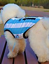 Cat Dog Shirt / T-Shirt Jersey Dog Clothes Cosplay Wedding Stripe Letter & Number Blue Costume For Pets