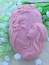 1pc Inovador Escova de Gel Chocolate Bolo Borracha Silicone Louca de Barro Vidrado Silicone Alta qualidade Moldes de bolos