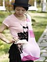 ネコ 犬 キャリーバッグ ショルダーバッグ ペット用 キャリア 携帯用 折り畳み式 レッド ブルー ピンク