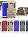 Para Samsung Galaxy Capinhas Antichoque / Com Suporte Capinha Capa Traseira Capinha Armadura PC Samsung S6 edge plus / S6 edge / S6 / S5