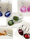 Silver  Earring Drop Earrings Wedding/Party/Daily/Casual 2pcs