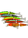 Hard Fishing Baits  5 pcs Two-section Floating Minnow 105MM 9.6G