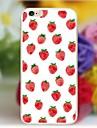 Pour Coque iPhone 5 Motif Coque Coque Arrière Coque Fruit Flexible PUT pour iPhone SE/5s/5