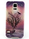 Pour Samsung Galaxy Coque Motif Coque Coque Arriere Coque Animal TPU Samsung S5 Mini / S4 Mini / S3 Mini