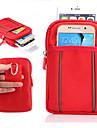 Pour Portefeuille Coque Bolsa Coque Couleur Pleine Flexible Tissu pour Universel iPhone 6s Plus/6 Plus iPhone 6s/6