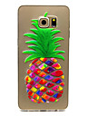 pineapple Pattern TPU Relief Back Cover Case for Galaxy S5 Mini/S5/Galaxy S6/Galaxy S6 edgePlus/Galaxy S6 edge
