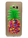 Para Samsung Galaxy Capinhas Case Tampa Transparente Capa Traseira Capinha Fruta PUT para Samsung Galaxy S6 edge plus S6 edge S6 S5 Mini