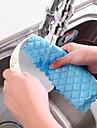 los platos comprobaron limpiador textil en la cocina color aleatorio