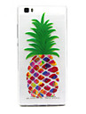 Pour Coque Huawei Etuis coque Transparente Coque Arrière Coque Fruit Flexible PUT pour Huawei