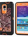 Для Samsung Galaxy Note Защита от удара Кейс для Задняя крышка Кейс для Армированный PC Samsung Note 4 / Note 3