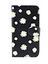 Capinha Para Samsung Galaxy Samsung Galaxy Capinhas Porta-Cartao Carteira Com Suporte Flip Capa Protecao Completa Flor PU Leather para S5