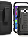 For Samsung Galaxy Case Shockproof / with Stand Case Back Cover Case Armor PC Samsung Grand Prime / Core Prime