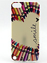 Pencil Smile Painting Pattern TPU Soft Case for iPod Touch 5 Touch 6