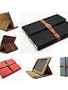 With Elastic Belt Wind Restoring Ancient Ways Flip PU Leather Case Cover For iPad 4/3/2
