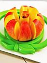 Kuechengeraete Edelstahl Kreative Kueche Gadget Cutter & Slicer Fuer Obst 1pc