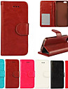 Crazy Horse Grain Full Body PU Leather Phone Protective Cases with Card Bag for iPhone 6 Plus/iPhone 6S Plus 5.5 inch
