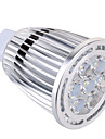 GU5.3(MR16) Faretti LED MR16 7 leds SMD Decorativo Bianco caldo Luce fredda 850lm 2800-3200/6000-6500K AC 85-265 AC 12V