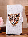 Case For Samsung Galaxy Samsung Galaxy Case Card Holder Rhinestone Flip Full Body Cases Animal PU Leather for S7 edge S7 S6 edge plus S6