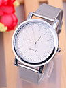 Women\'s Wrist Watch Quartz Silver / Gold Casual Watch Analog Ladies Fashion Minimalist - Silver Golden One Year Battery Life