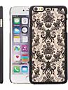 Pour Coque iPhone 5 Relief Coque Coque Arrière Coque A Dentelle Dur Polycarbonate iPhone SE/5s/5