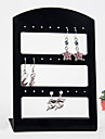 Black Acrylic Earrings Jewelry Displays 24 Holds Elegant Style
