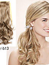 Tape In Wavy Ponytails Hair Piece Hair Extension Blonde