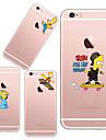 Pour Coque iPhone 5 Ultrafine Transparente Motif Coque Coque Arriere Coque Jeux Avec Logo Apple Flexible PUT pour iPhone SE/5s/5