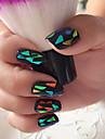 12pcs 3D-стикеры для ногтей Шаблон шаблона для ногтей Повседневные Абстракция Мода Свадьба Панк Высокое качество