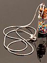 Necklace Pendant Necklaces Jewelry Daily / Casual Fashionable Glass Silver 1pc Gift
