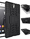 For Sony Case Shockproof / with Stand Case Back Cover Case Armor Hard PC for Sony Sony Xperia C5 Ultra