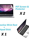 "Metal Rest Protective Film and Touch Panel Membrane + Protective Clear Screen Guard for 12"" MacBook"
