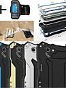R-JUST Gundam 100% Waterproof Metal Aluminum Gorilla Glass Case +Sports armband for iPhone6 Plus