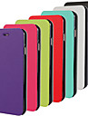For iPhone 6 Case / iPhone 6 Plus Case Flip / Ultra-thin Case Full Body Case Solid Color Hard PU LeatheriPhone 6s Plus/6 Plus / iPhone