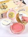 3 Blush Secos Po Gloss Colorido Humidade Controlo de Oleo Longa Duracao Corretivo Peles com Manchas Natural Minimizador de Poros