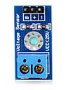modulo placa do sensor de voltagem b25 para arduino - azul